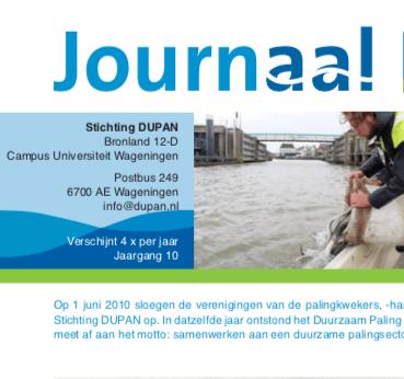 Dupan Journaal – maart 2020